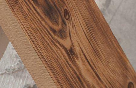 Браширование или состаривание древесины
