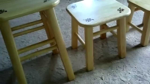 Как сделать ножки для стула своими руками видео